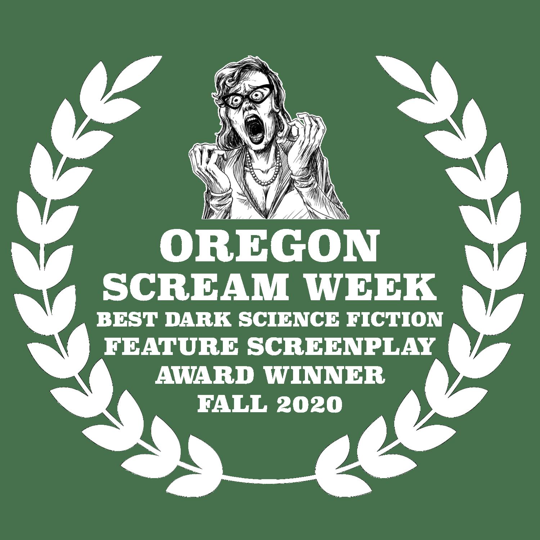 Best Dark Science Fiction Feature Screenplay Oregon Scream Week Horror Film Festival Fall 2020