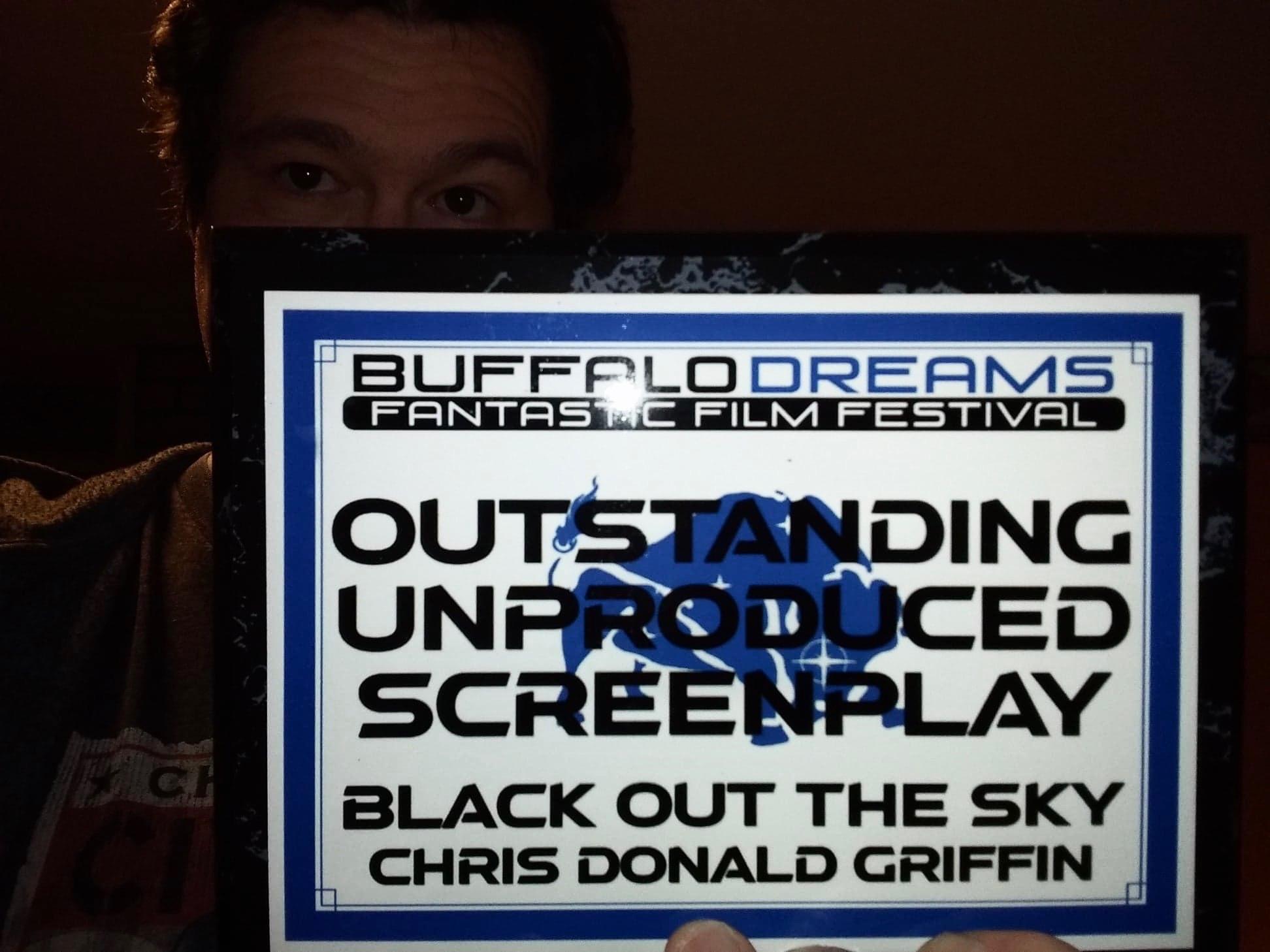 Screenplay Award Plaque